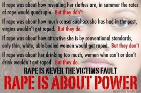 What Rape Is & Is Not About